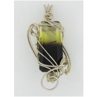 60 ct. Bicolor Citrine/Smoky Quartz Pendant