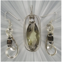 SMOKEY QUARTZ SET