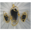 GEMSTONE JEWELRY SET - DRUSY
